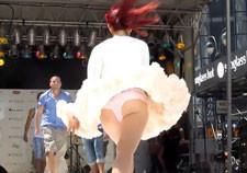 Ariana Grande upskirt pics
