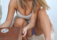 Jodie Gasson upskirt pictures