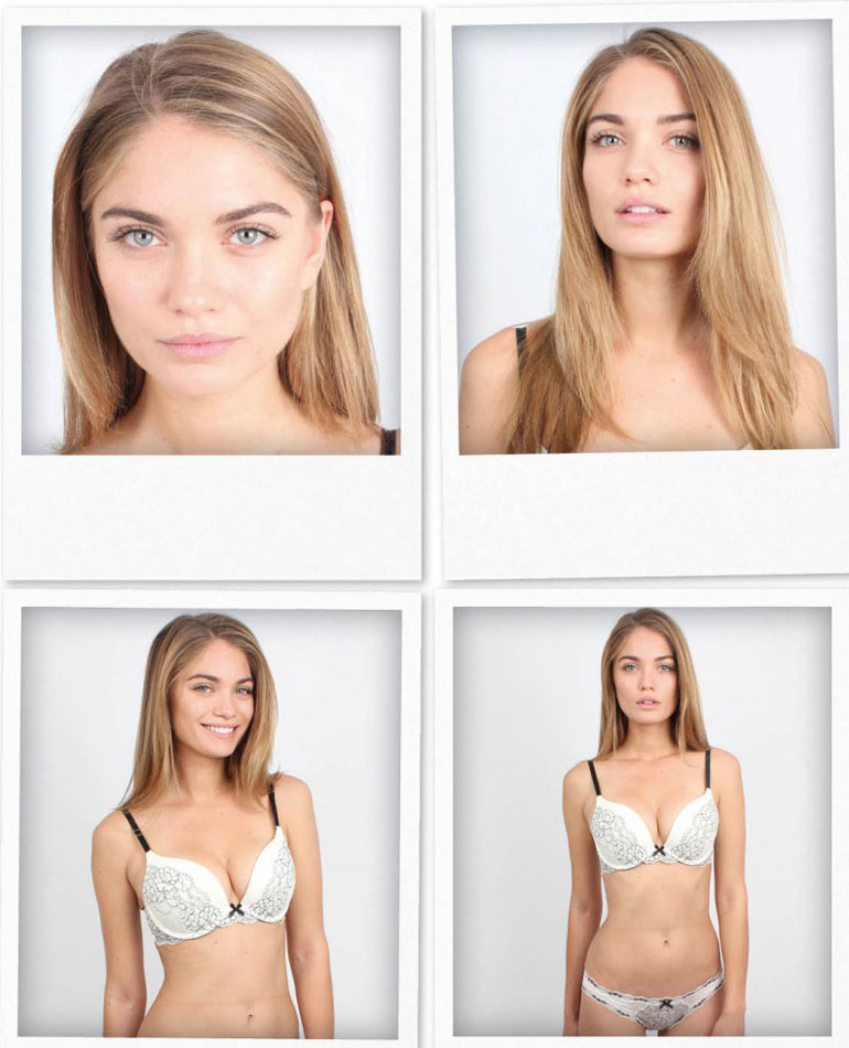 Natalie Morris modelling shots