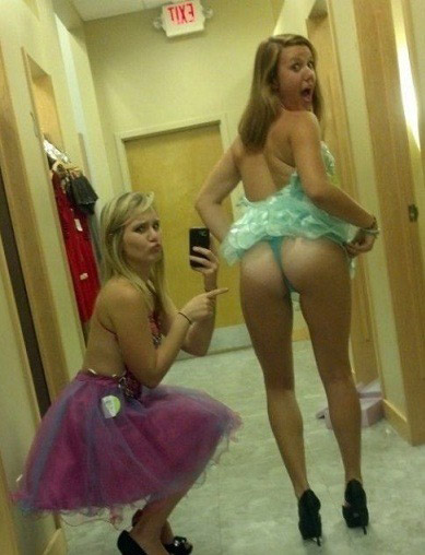 In Thongs Teens Thong Dancer 73