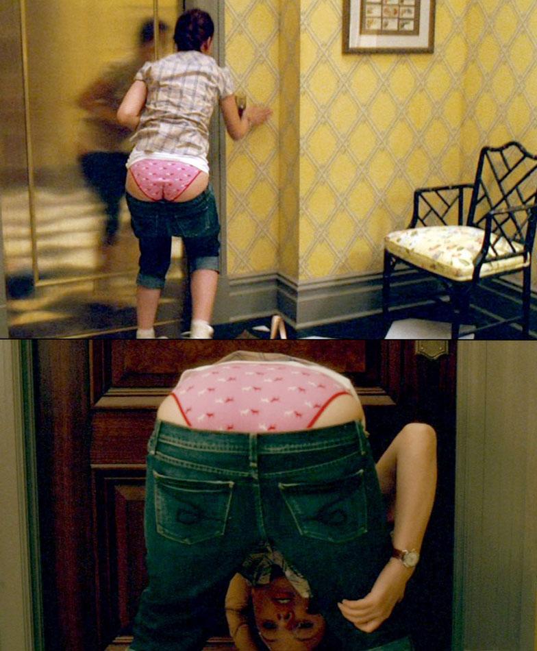 Scarlett Johansson in panties