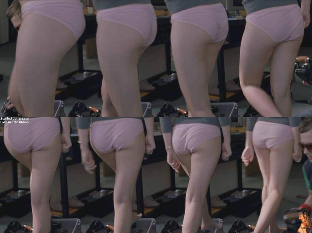 Lost In Translation panties scene