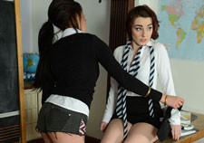British schoolgirls taking panties off