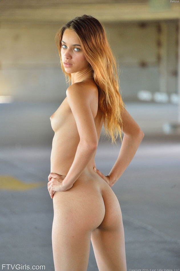 Nude sexy young ass