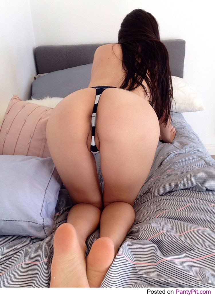 Doggie style sexy ass in panties